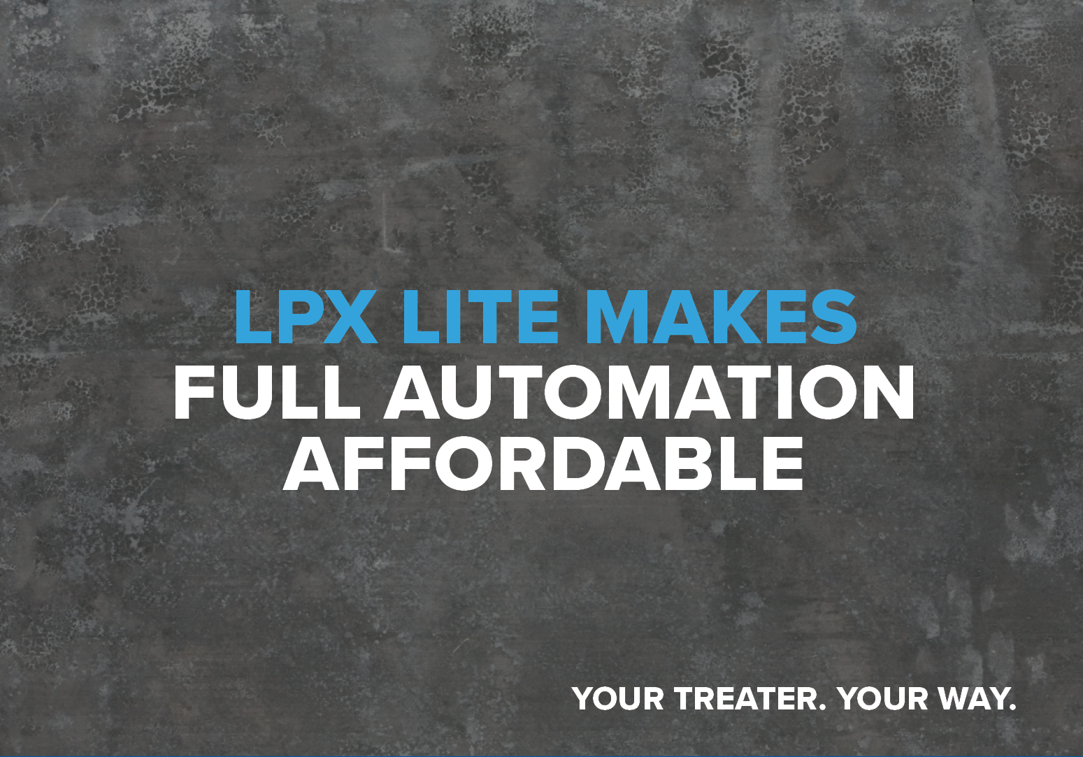 LPX Lite makes full automation affordable