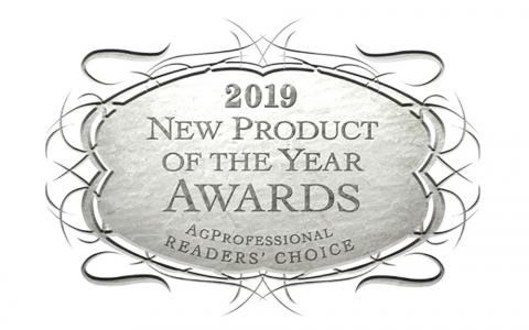 2019 New Product of the Year Award by AgProfessional